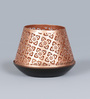 Courtyard Golden Iron Jaipuri Votive Tea Light Holder