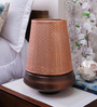 Courtyard Swarsitar Copper Antique Table Lamp With Mogra Gold Shade