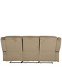 Cove Fabric Three Seater Sofa in Mocha Colour by HomeTown