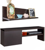 Cove Low Height Entertainment Unit with Wall Shelf  by StyleSpa