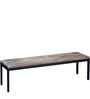 Paramore Solid Wood Bench in Distress Finish by Bohemiana