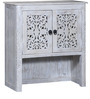 Erykah Hutch Cabinet in Distress Finish by Bohemiana