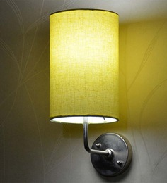 Craftter Yellow Round Wall Lamp