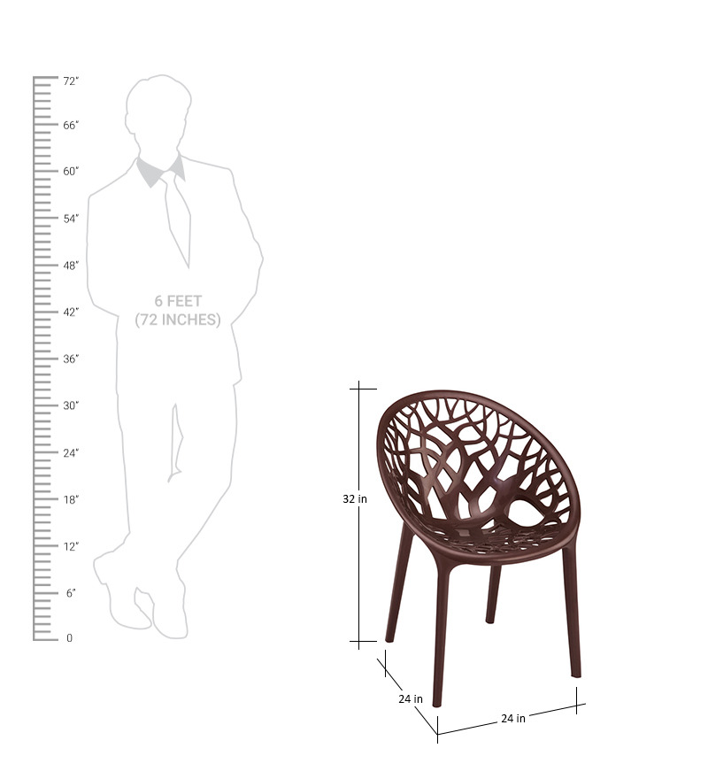 Crystal Weather Brown Visitors Chair by Nilkamal by  : crystal weather brown visitors chair by nilkamal crystal weather brown visitors chair by nilkamal rrrrkw from www.pepperfry.com size 800 x 880 jpeg 92kB