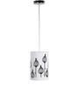 Craftter Black & White 0.5W LED Hanging Lamp