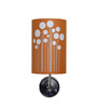 Craftter Abstract Upward Orange & White Wall Lamp