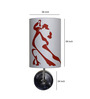 Craftter Dancing Couple White & Red Wall Lamp