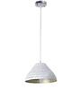 Craftter Dots Antique Golden 0.5W LED Hanging Lamp