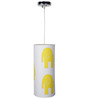 Craftter Elephant Yellow & White Hanging Lamp