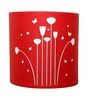 Craftter Flower Red Wall Lamp