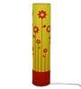 Craftter Yellow & Red Acrylic & Metal Flowers Floor Lamp