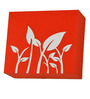 Craftter Growing Plants Red & White Wall Lamp
