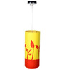 Craftter Growing Plants Yellow & Red Hanging Lamp