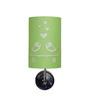 Craftter Love Birds Upward Green & White Wall Lamp