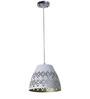 Craftter Mugal Jali White & Gold 0.5W LED Hanging Lamp