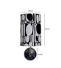 Craftter Abstract Upward White & Black Wall Lamp
