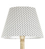 Craftter Booti Black & White Wooden & Fabric Floor Lamp