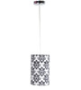 Craftter Booti White & Black 0.5W LED Hanging Lamp
