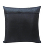 Creative Homez Black Polyester 16 x 16 Inch Embroidery Cushion Cover