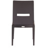 Crescent Dining Chair (Set of 2) in Dark Chocolate Colour by Godrej Interio
