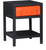 Cassiar Bedside Table in Dual Tone Finish by Bohemiana