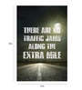 Crude Area Paper 12 x 18 Inch Extra Mile Unframed Poster