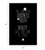 Crude Area Paper 12 x 18 Inch Goodness, Truth & Beauty Unframed Poster