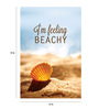 Crude Area Paper 12 x 18 Inch I'm Feeling Beachy Unframed Poster