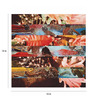 Crude Area Paper 15 x 15 Inch The Flower Lane Print Unframed Poster
