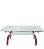 Crystal Coffee Table in Maroon Colour by Godrej Interio