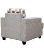 Crystal One Seater Sofa in Cream Print by Sofab