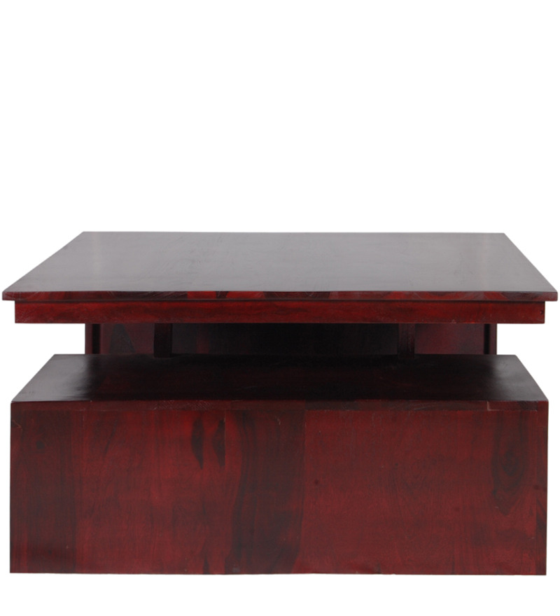San salvador solid wood large coffee table in passion - Vaisselle table passion ...