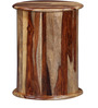 Clevedon End Table in Natural Sheesham Finish by Amberville