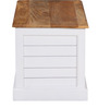 Baronet Trunk Box in Dual Tone Finish by Amberville