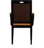 Rawstorn Arm Chair in Espresso Walnut Finish by Amberville