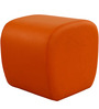 Cutesy Pouffe in Orange Colour by ARRA