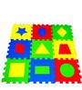 Ultimate Geometric Puzzle Mats in Multicolour