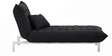 Daybed Easy Lounge in Black Colour by Furny