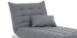Daybed Easylounge in Light Grey Colour by Furny