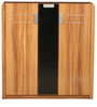 Daffodil Three Door Shoerack in Teak Finish by Royal Oak