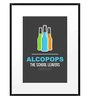 DailyObjects Paper Alcopops Framed Art Print