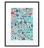 DailyObjects Paper All Boys Framed Art Print