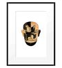 DailyObjects Paper Busy Mind Framed Art Print