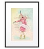 DailyObjects Paper Dancing Queen Framed Art Print