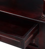 Vemaki Bed Side Table in Passion Mahogany Finish by Mudramark