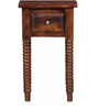 Darwin End Table in Provincial Teak Finish by Amberville