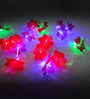 Dazzled Downward Red 20 Bulbs Flower String Light