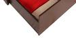 Deborrah Sofa Cum Bed in Red Colour by Auspicious