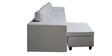 Devise Modular (RHS/LHS) Lounger Sofa in White Colour by Elegant Furniture