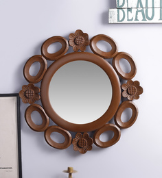 Decorhand MDF Brown Mirror